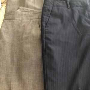 2 pair awesome Ann Taylor Signature Size 6 pants